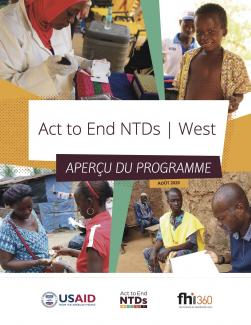 Act to End NTDs | West Aperçu du Programme