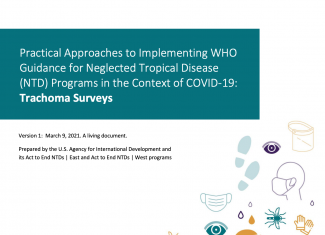 Trachoma Surveys: Practical Approaches to Implementing WHO Guidance for Neglected Tropical Disease (NTD) Programs in the Context of COVID-19